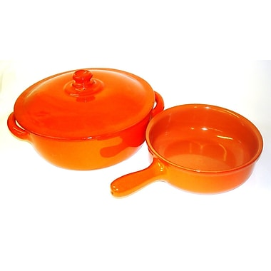 Piral 2 Piece 4.5-qt. Round Dutch Oven and 1.5-qt. Braiser w/ Lid Set; Yes