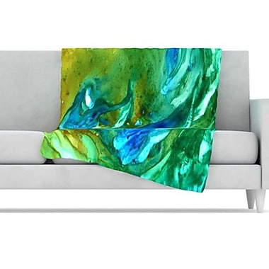 KESS InHouse Hurricane Fleece Throw Blanket; 60'' L x 50'' W