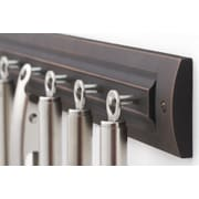 RQ Home Wall Mounted Pot Rack; Oil Rubbed Bronze