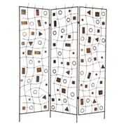 Screen Gems 72'' x 63'' Morton 3 Panel Room Divider