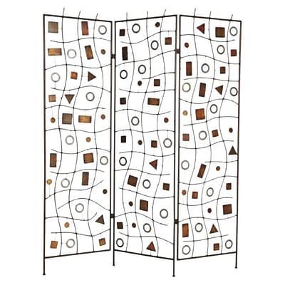Screen Gems 72'' x 63'' Morton 3 Panel Room Divider