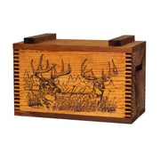 Evans Sports Standard Storage Box w/ Two Trophy Deer Print