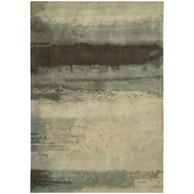 Calvin Klein Rugs Luster Wash Beryl Wash Light Green Area Rug; 4' x 6'
