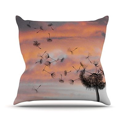 KESS InHouse Dandy Throw Pillow; 18'' H x 18'' W