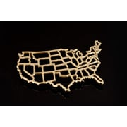 Fashion N You United States Trivet; Brass