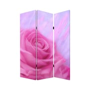 Screen Gems 72'' x 48'' Flourish 3 Panel Room Divider