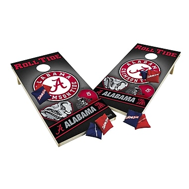 Tailgate Toss NCAA XL Shields Cornhole Set; Louisiana State