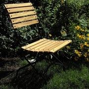 Furniture Designhouse European Grande Caf  Folding Patio Dining Chair (Set of 2)