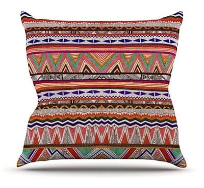 KESS InHouse Native Tessellation Throw Pillow; 26'' H x 26'' W