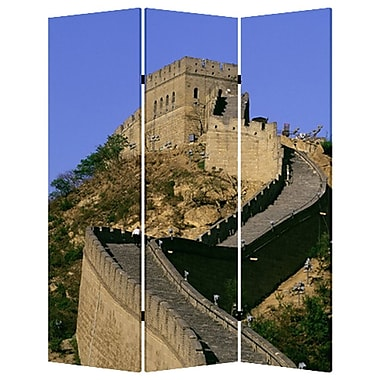 Screen Gems 72'' x 48'' China 3 Panel Room Divider