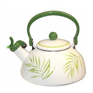 Corelle Bamboo Leaf 2.5-qt. Whistling Tea Kettle