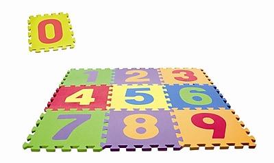 edushape Edu Tiles Toy Set; Numbers Set WYF078275618994