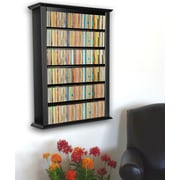 Venture Horizon VHZ Entertainment Single Wall Mounted Storage Rack; Black