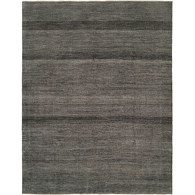Shalom Brothers Illusions Grey/Charcoal Area Rug; 3' x 5'