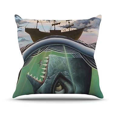 KESS InHouse Jonah Throw Pillow; 18'' H x 18'' W x 4.1'' D