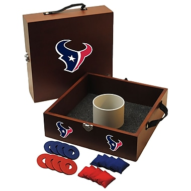 Tailgate Toss NFL Washer Toss Game Set; Houston Texans