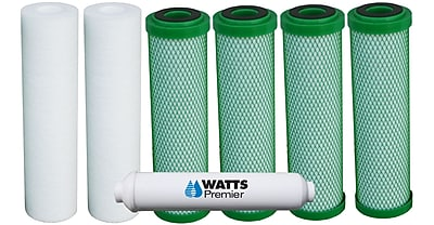 Watts Premier One Year Green Carbon Annual Filter Kit WYF078275590995