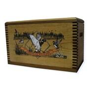 Evans Sports Wooden Accessory Box w/ ''Wildlife Series'' Duck Print