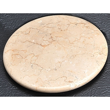 Creative Home The Byzantine Marble Round Board in Champagne
