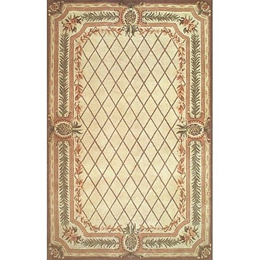 American Home Rug Co. Cape May Beige / Brown Area Rug; 3'6'' x 5'6''