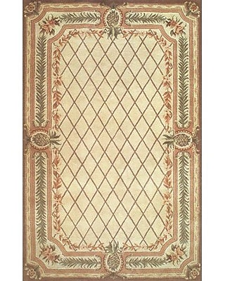 American Home Rug Co. Cape May Beige / Brown Area Rug; Runner 2'6'' x 8'