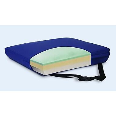 NYOrtho Apex Core Gel-Foam Cushion in Royal Blue; 3'' H x 22'' W x 16'' D