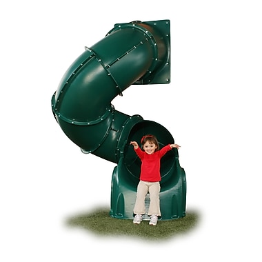 Swing-n-Slide 5' Turbo Tube Slide; Green