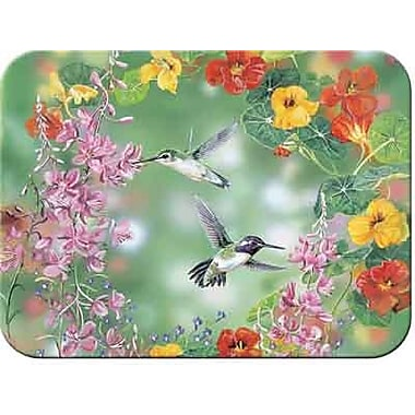 McGowan Tuftop Hummingbirds Cutting Board; Small (9''x12'')