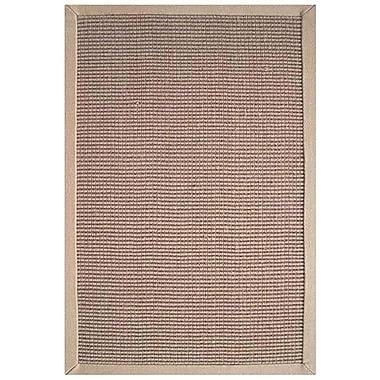 Acura Rugs Sisal Natural/Beige Rug; Rectangle 5' x 8'