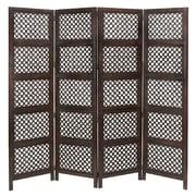 Aspire 72'' x 80'' 4 Panel Room Divider