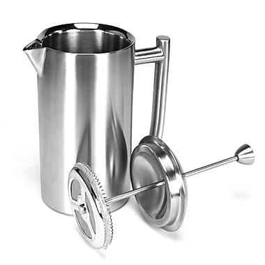 Frieling Brushed Stainless Steel French Press; 8 Oz.
