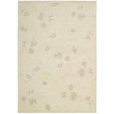 Nourison Illusions Cream Area Rug; 5'3'' x 7'5''