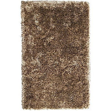 Noble House Crystal Multi Camel/Coffee Rug; 8' x 11'