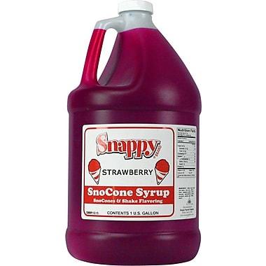 Snappy Popcorn Snow Cone Syrup; Strawberry