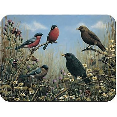 McGowan Tuftop Blackbird and Bullfinch Cutting Board; Medium (12''x16'')