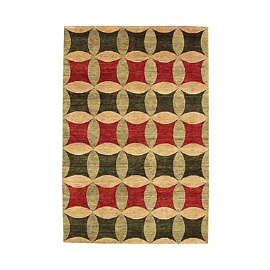 Noble House Legacy Multi Rug; 6' x 9'