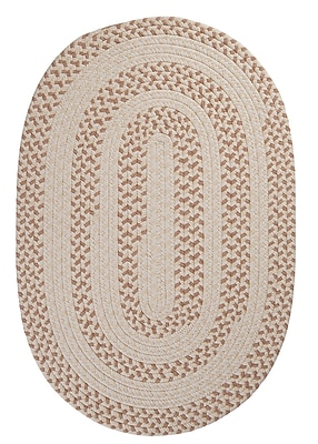 Colonial Mills Elmwood Evergold Braided Area Rug; Rectangle 8' x 11'