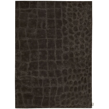 Calvin Klein Rugs Canyon Hand-Woven Marsh Peat Area Rug; 7'9'' x 10'10''