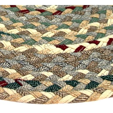 Thorndike Mills Beacon Hill Runner Beige/Green Area Rug; Runner 2'3'' x 12'