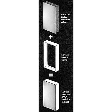 Zaca Accessories 16'' x 26'' Surface Mount Frame