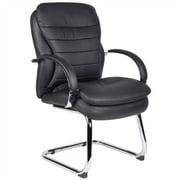 Aaria Habanera Guest Chair; Chrome