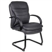 Aaria Habanera Guest Chair; Black