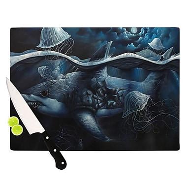 KESS InHouse Invictus Cutting Board; 11.5'' H x 8.25'' W x 0.25'' D