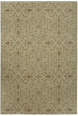 Capel Heavenly Beige Floral Area Rug; 10' x 14'