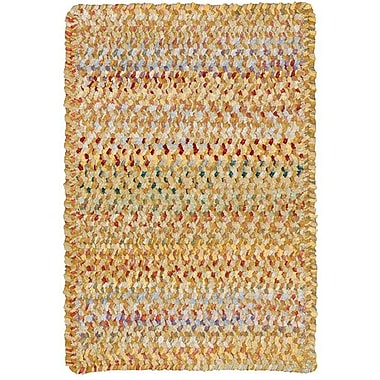 Capel Ocracoke Amber Area Rug; Round 8'6''
