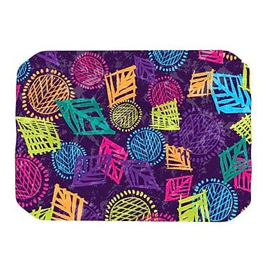 KESS InHouse African Beat Placemat; Purple