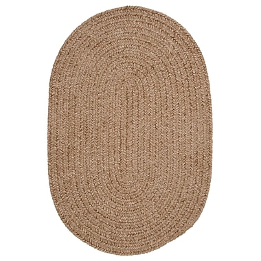 Colonial Mills Spring Meadow Sand Bar Area Rug; Round 10'