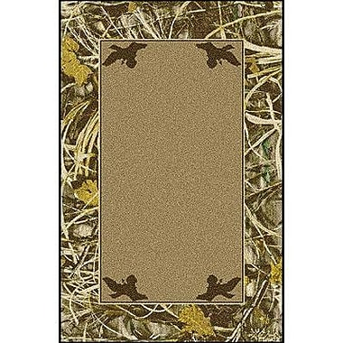 Milliken Realtree Max 4 Solid Center Area Rug; Rectangle 3'10'' x 5'4''