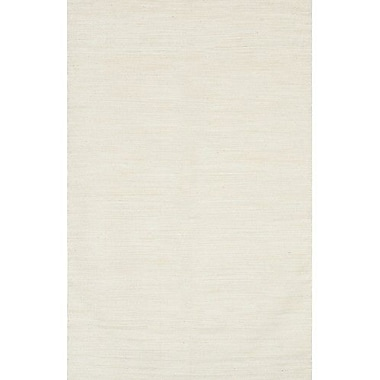 Chandra India Ivory Area Rug; 5' x 7'6''
