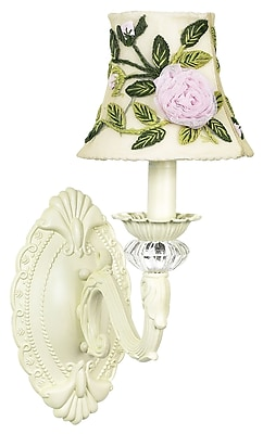 Jubilee Collection Turret 1-Light Candle Wall Light
